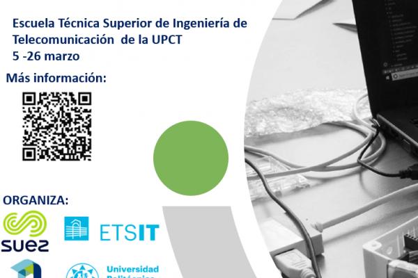Escuela Técnica Superior de Ingeniería de Telecomunicación de la UPCT. 5 - 26 de marzo. Imagen cuadrada.
